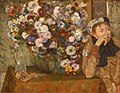 WLA metmuseum A Woman Seated beside a Vase of Flowers by Edgar Degas.jpg