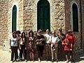 WLM2012 - Guided tour at the Haifa City Museum -2.jpg