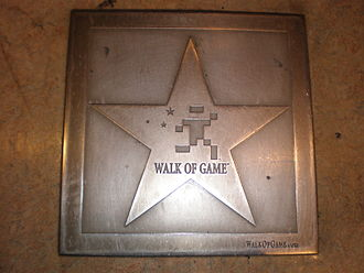 Walk of Game - Image: Walk of Game star