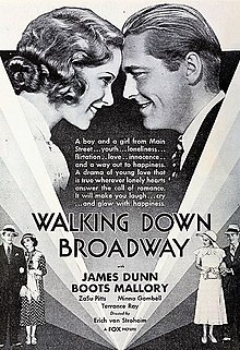 Walking Down Broadway 1933 plakat.jpg
