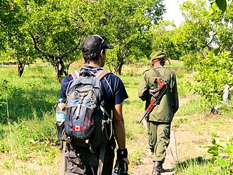 Katavi National Park - Image: Walking Safari in Katavi National Park