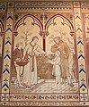 Wall painting, St. Leonard's Church, Newland - geograph.org.uk - 1386965.jpg
