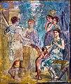 Wall painting - Artemis and Kallisto - Pompeii (VII 12 26) - Napoli MAN 111441.jpg