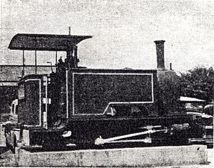 1899 in South Africa - Walvis Bay engine ''Hope''