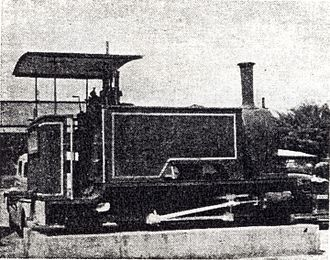 2-4-2 - The engine Hope, c. 1948