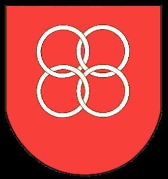 Dahlem, Rhineland-Palatinate - Image: Wappen Dahlem (bei Bitburg)