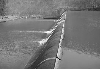 Nils F. Ambursen - Warrior Ridge Dam, Huntingdon County, Pennsylvania, constructed in 1906