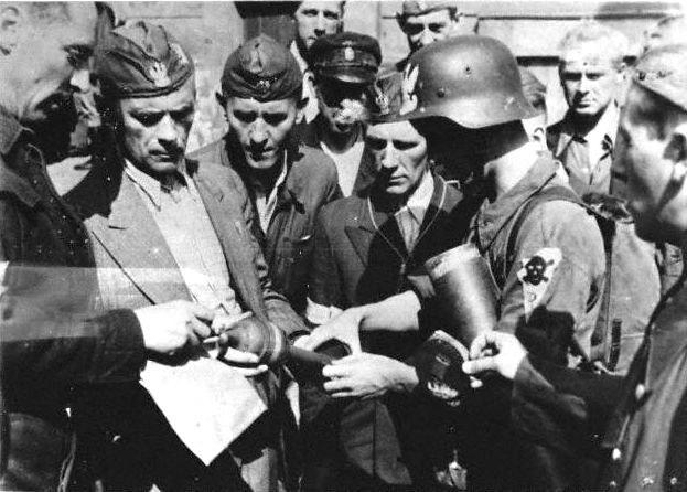 Warsaw Uprising - Cyprian Odorkiewicz and Rafałki