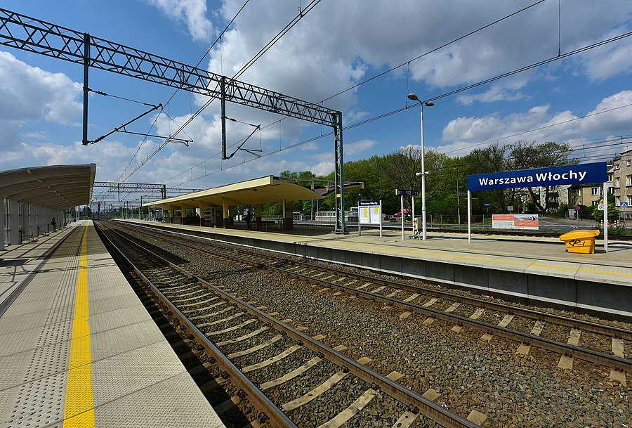 Warszawa Włochy railway station