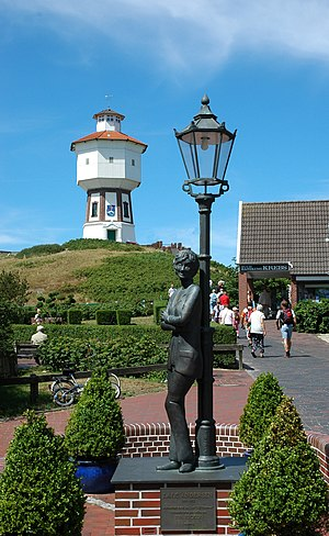 "Lili Marleen - A ""Lili Marleen"" and Lale Andersen memorial in Langeoog, Germany"