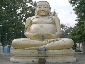 Katyayana (Buddhist) - Statue of Mahākātyāyana in Thai tradition