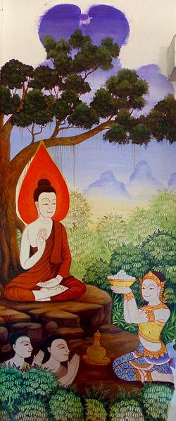 File:Wat Pangla - 018 Sujata offers Rice Balls (10685001495).jpg