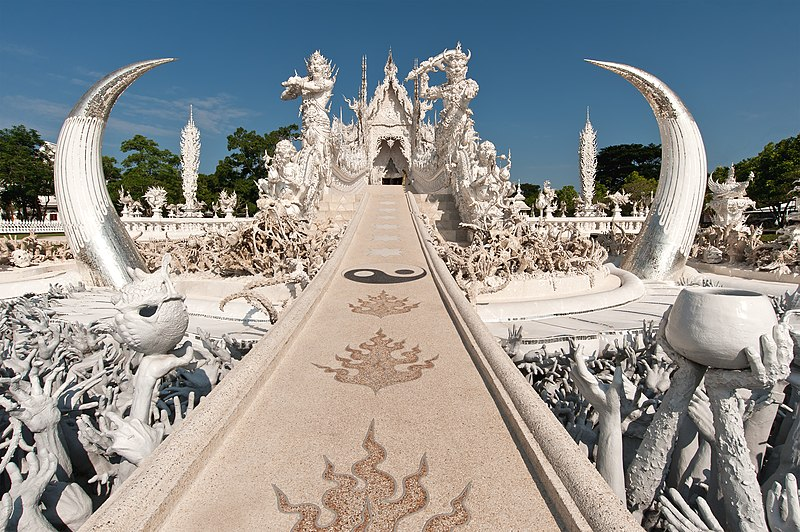 Wat Rong Khun; White Temple North Thailand.jpg