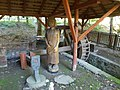 Water wheel in workshop. Open Air Forest Museum of Szilvásvárad, 2016 Hungary.jpg