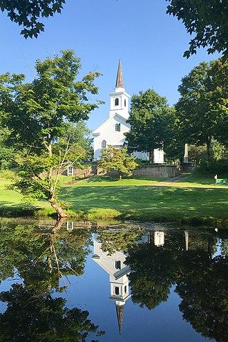 Waterloo Village, New Jersey - Waterloo Village United Methodist Church