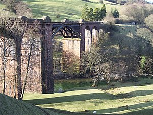 Ingleton branch line - Waterside Viaduct near Sedbergh