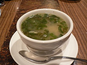 A cup of wedding soup