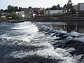 Weir at dusk, Dumfries. - geograph.org.uk - 1503092.jpg