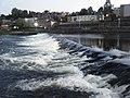 Weir at dusk, Dumfries. - geograph.org.uk - 1503092.jpg