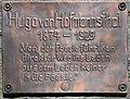 Weitensfeld Zammelsberg Dichtersteinhain Gedenktafel fuer Hugo von Hofmannsthal 11042016 1312.jpg