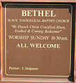 Welcome to the Slavic Evangelical Baptist Church - geograph.org.uk - 898212.jpg