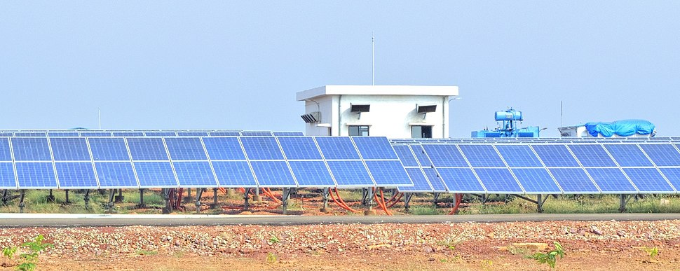 Welspun Solar power plant,Bhagwanpura, Diken,Neemuch