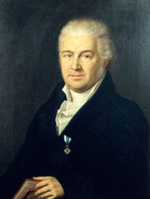 Samuel Thomas von Sömmerring - Portrait by Wendelin Moosbrugger