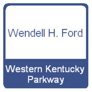 Western Kentucky Parkway - The Western Kentucky Parkway's previous shield