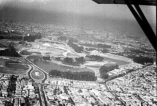 Vista aérea da cidade de São Paulo/SP