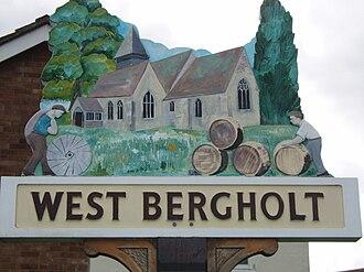 West Bergholt - Image: West Bergholt