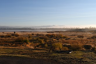 West Yellowstone, Montana - Typical landscape in West Yellowstone, Montana, photographed in late-September.