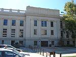 West at back side Historic Utah County Courthouse, Jul 15.jpg