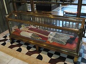 John Southworth (martyr) - Reliquary of Saint John Southworth