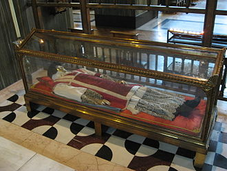 John Southworth (martyr) - Reliquary of Saint John Southworth