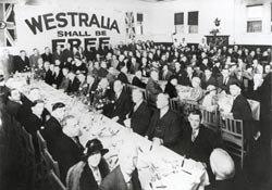 Westralia shall be free