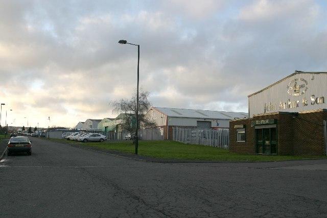 Westway Industrial Park - geograph.org.uk - 103968