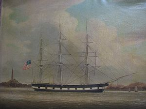 Niantic (whaling vessel) - Image: Whaleship Niantic