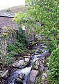 Whit Beck flowing through High Lorton - geograph.org.uk - 1512771.jpg