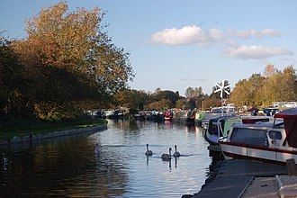 Adlington, Lancashire - White Bear Marina, Leeds and Liverpool Canal, Adlington