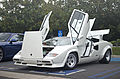White Lamborghini Countach 5000QV at Cars & Coffee, Irvine, CA.jpg