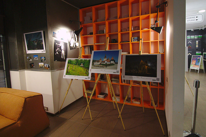 File:Wiki Loves Monuments 2015 exhibition in Bucharest 52.jpg