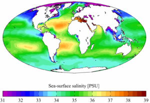 salinité eau de mer - wikipedia