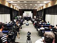 Wikimanía 2015 - Day 2 - Press Conference - LMM - México D.F. (11).jpg