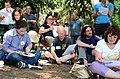 Wikipedians gathering 7953.JPG