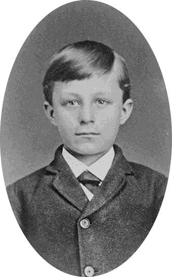 Wilbur Wright child