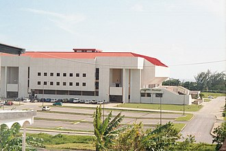 Barbados–China relations - The Wildey Gymnasium in Barbados which was built in 1992 with assistance of the P.R.C.