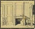 Wilhelm Hauffs Zimmer im Kriegsministerium in Stuttgart, 1825, 3.jpg