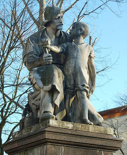File:Wilhelm Haverkamp Handwerker mit Sohn.jpg