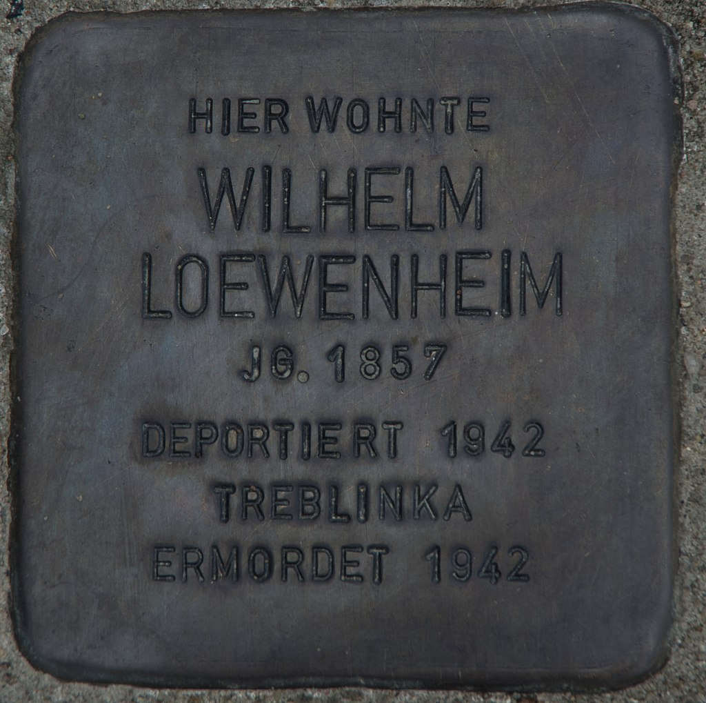 Wilhelm Loewenstein Stolperstein Schwedt Oder.jpg