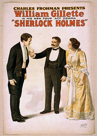 Sherlock Holmes (play) - Posters for the 1899 Broadway production